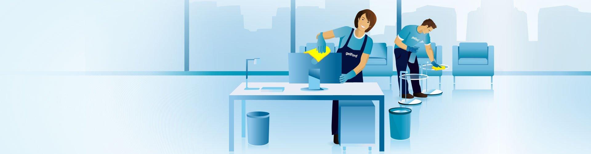 Büroreinigung & Fensterreinigung
